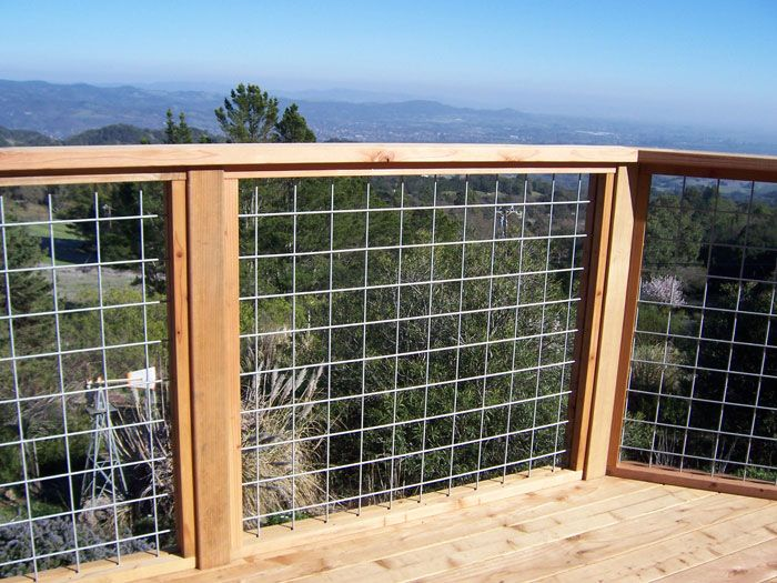 deck railing ideas stainless steel grid deck railings - building u0026 construction - diy chatroom  - diy KLNYBYC