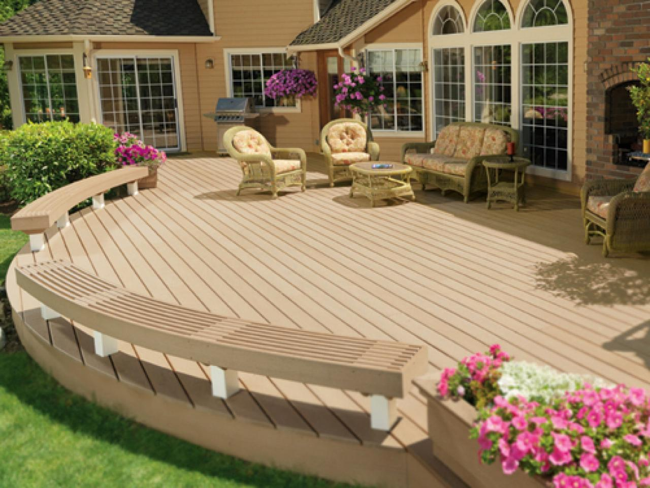 decking ideas created for lounging FNERSBK