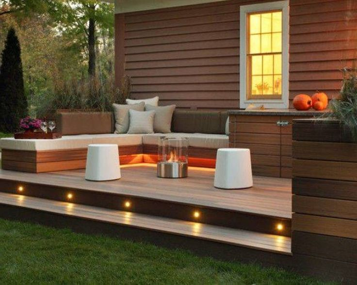 decking ideas landscaping and outdoor building , great small backyard deck designs :  small backyard deck ZBUNDHU