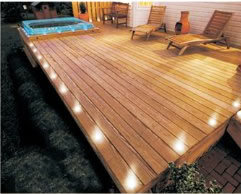 decking lights other options are small fluorescent lights and neon shade lights which are  more trendy BZMVMXD