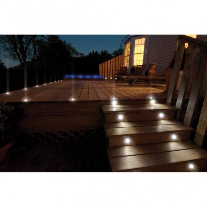 decking lights sealrange sd30 led decking walkover plinth lights ip68 10 pack OPSXROG
