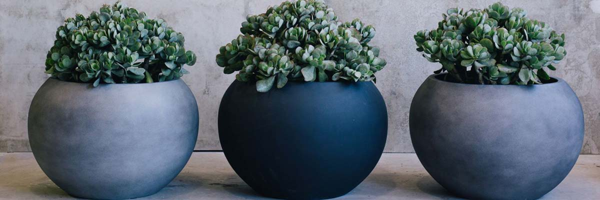 designer garden pots and the environment KPYIWDW