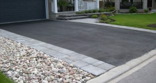 driveway ideas steps u0026 interlock driveways - landscaping stittsville - kanata | green with  envy landscaping YFMDAUR