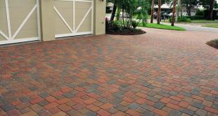 driveway pavers ... brick paver driveway ... DQAKZXZ