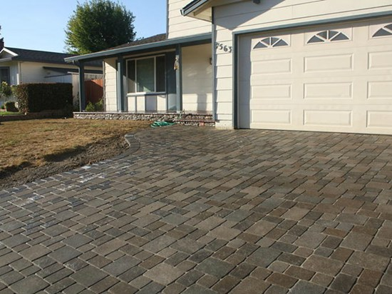 driveway pavers brown concrete pavers site br landscapers, concrete u0026 pavers pleasanton, ... YUUDRAE