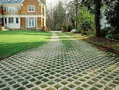 driveway pavers grasspavers for driveways u0026 patios allow a drive or parking pad to double  as ZVFLNWF