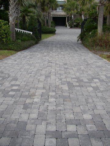 driveway pavers tumbled cobblestone concrete paver driveway AGAGAUR