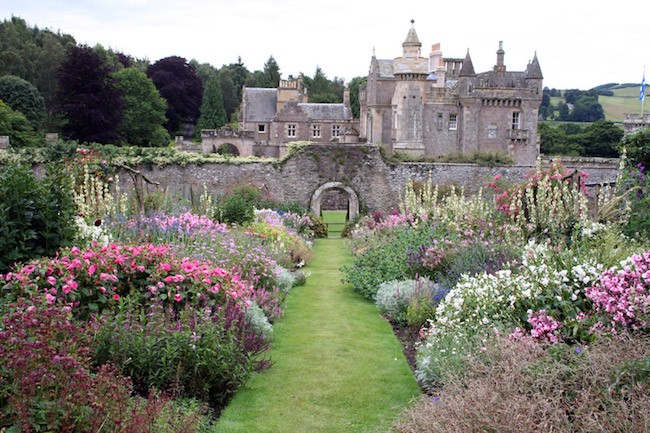 english gardens english garden flowers abbostford house scotland SSECGSE