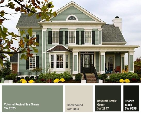 exterior house colors expertly-crafted paint schemes for your home exterior | exterior colors,  paint colors and exterior GJPIKHF