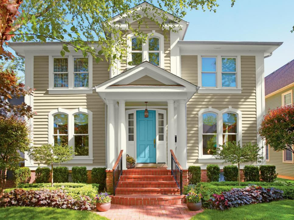 exterior paint colors 28 inviting home exterior color ideas | hgtv TOCYUGS