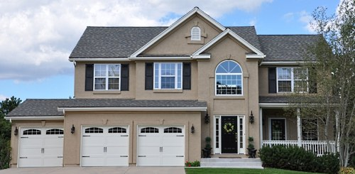 exterior paint colors media gallery. large home painted with 3 colors ... TPEFDDS