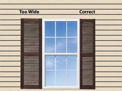 exterior window shutters | shutter height in most cases the height of  decorative shutter | windows SEGRNRX