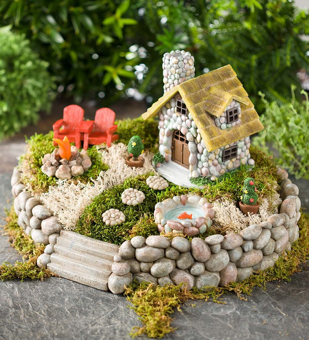 fairy garden 1. summer in the adirondacks AKZJLGI