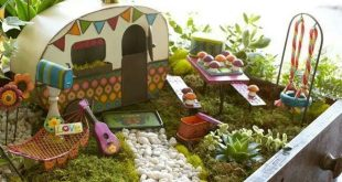 fairy garden ideas hit the road jack! OHZBXLE