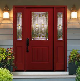 front doors smooth fiberglass collection QRYOCDY
