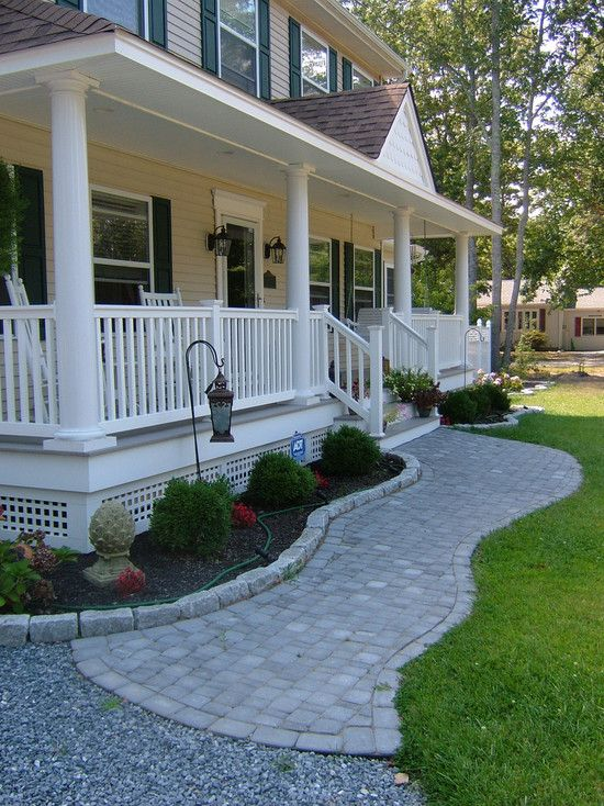 front porch ideas traditional exterior front porch design, pictures, remodel, decor and ideas.  soooo pretty SHSUQID