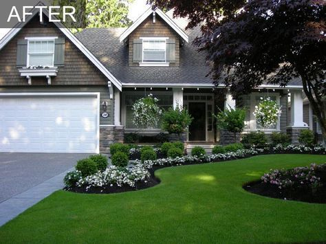 front yard landscaping ideas front yard front yard makeover transformation | south surrey bc. small yard  landscapingfront ... XQSDBQZ