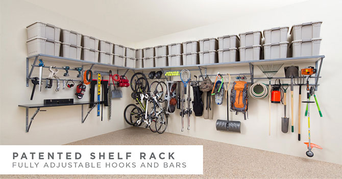 garage storage systems | monkey bar storage TYDYGAV