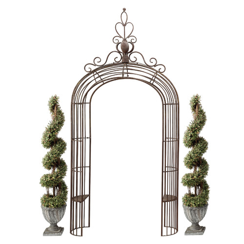 garden arches design toscano the princessu0027 metal garden arch OCDUJQM
