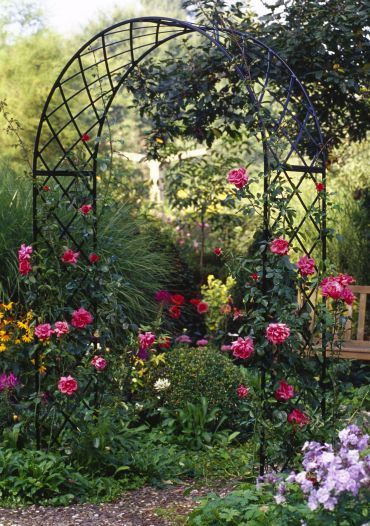 garden arches this site has a great variety of trellises and arbors. garden archesgarden  ... QCDYNJC