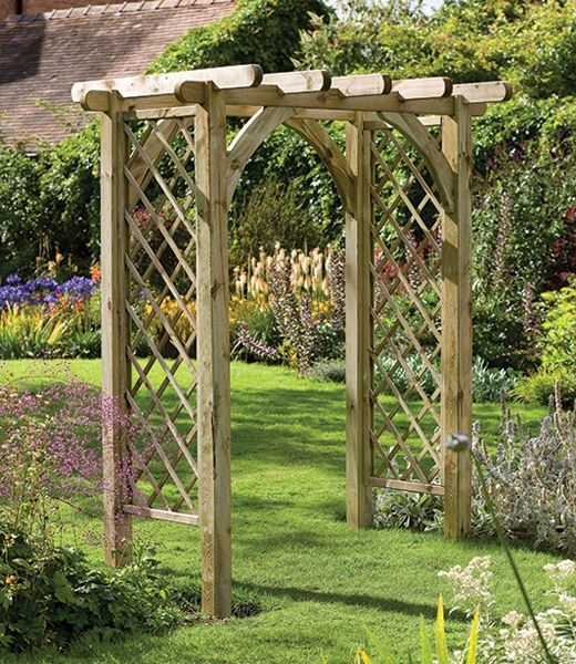 GARDEN ARCHES ADD A TOUCH OF ELEGANCE AND STYLE TO YOUR OUTDOOOR SPACE