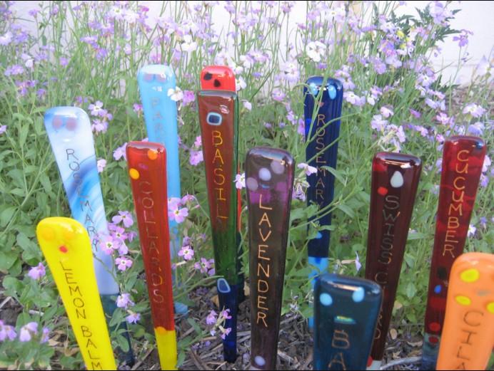 garden art plant marker art HNXAEVC