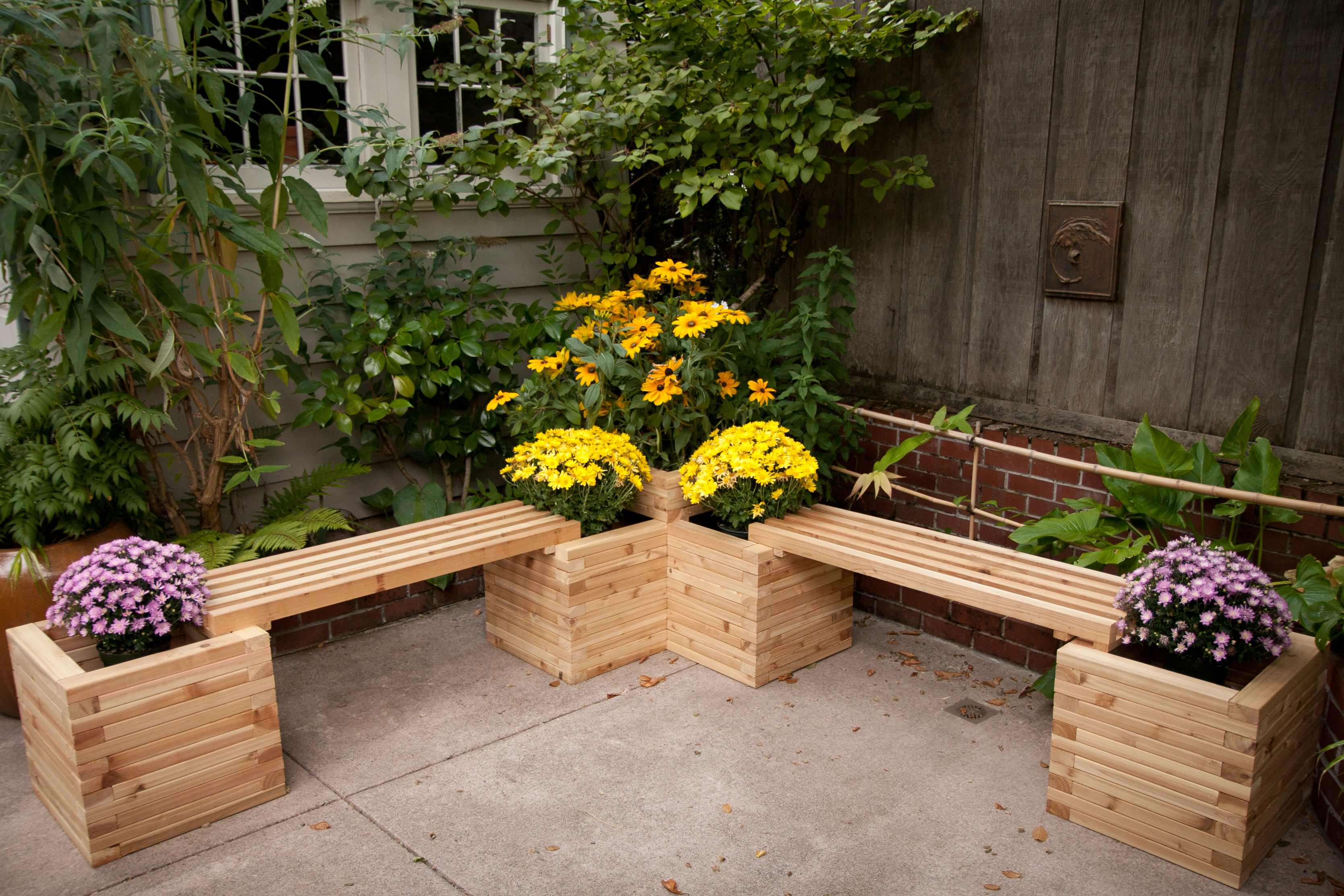 garden benches | the chicken gardener KUQEBCJ