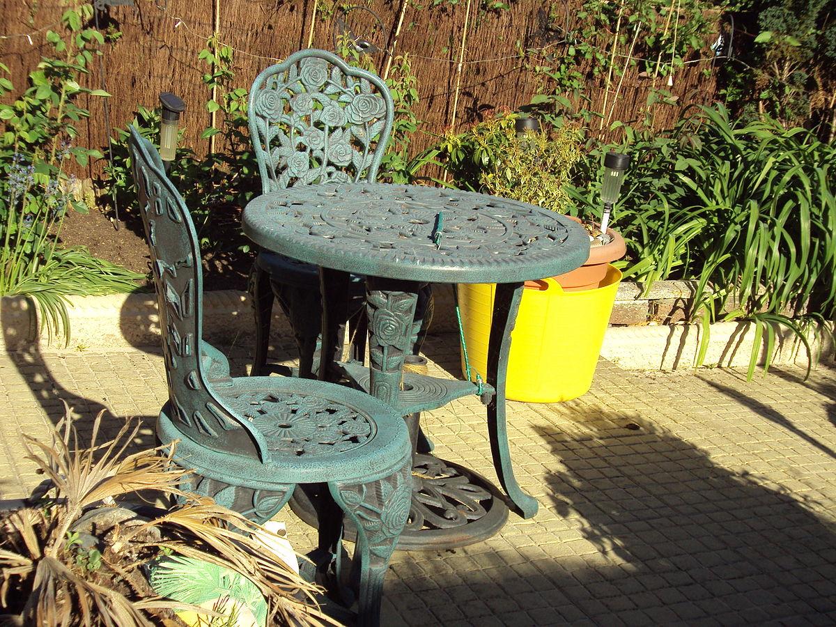 garden chairs garden furniture - wikipedia MAAHVXG