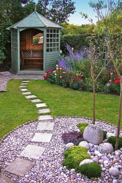 garden design petit jardin : 6 aménagements au top repérés sur pinterest HTZDMWV