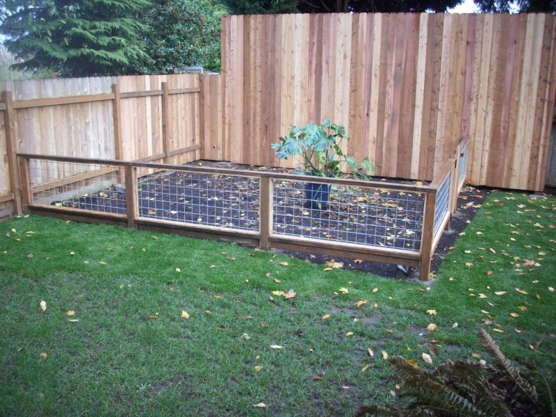 garden fence panels ideas SNSPZOR