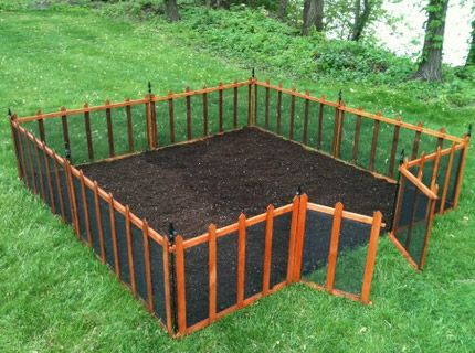 garden fencing deer fencing and picket fencing create a quick garden area anywhere in your  backyard. QYEFHTU