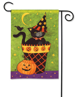 garden flags boo boo kitty garden flag by breeze art #34475 PTRXDTI