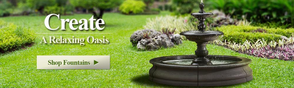 garden fountains insert keywords ATAWAEJ