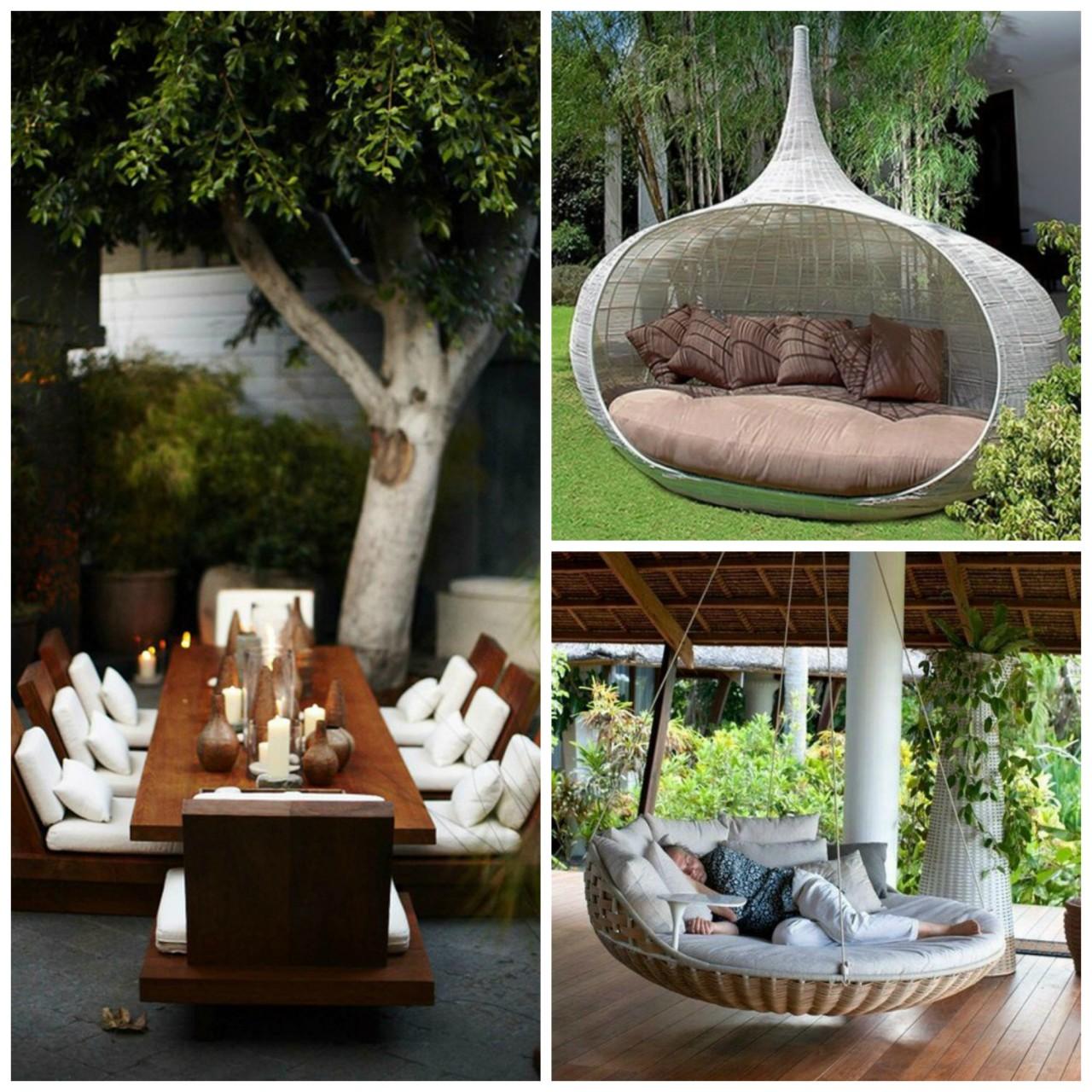 Garden furniture 20 best garden furniture trends 2017 - theydesign.net - theydesign.net GSDEXIS