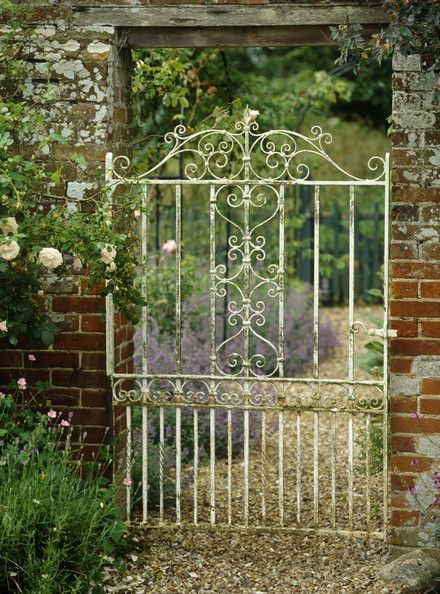 garden gates antique gate photos LRFIOZS
