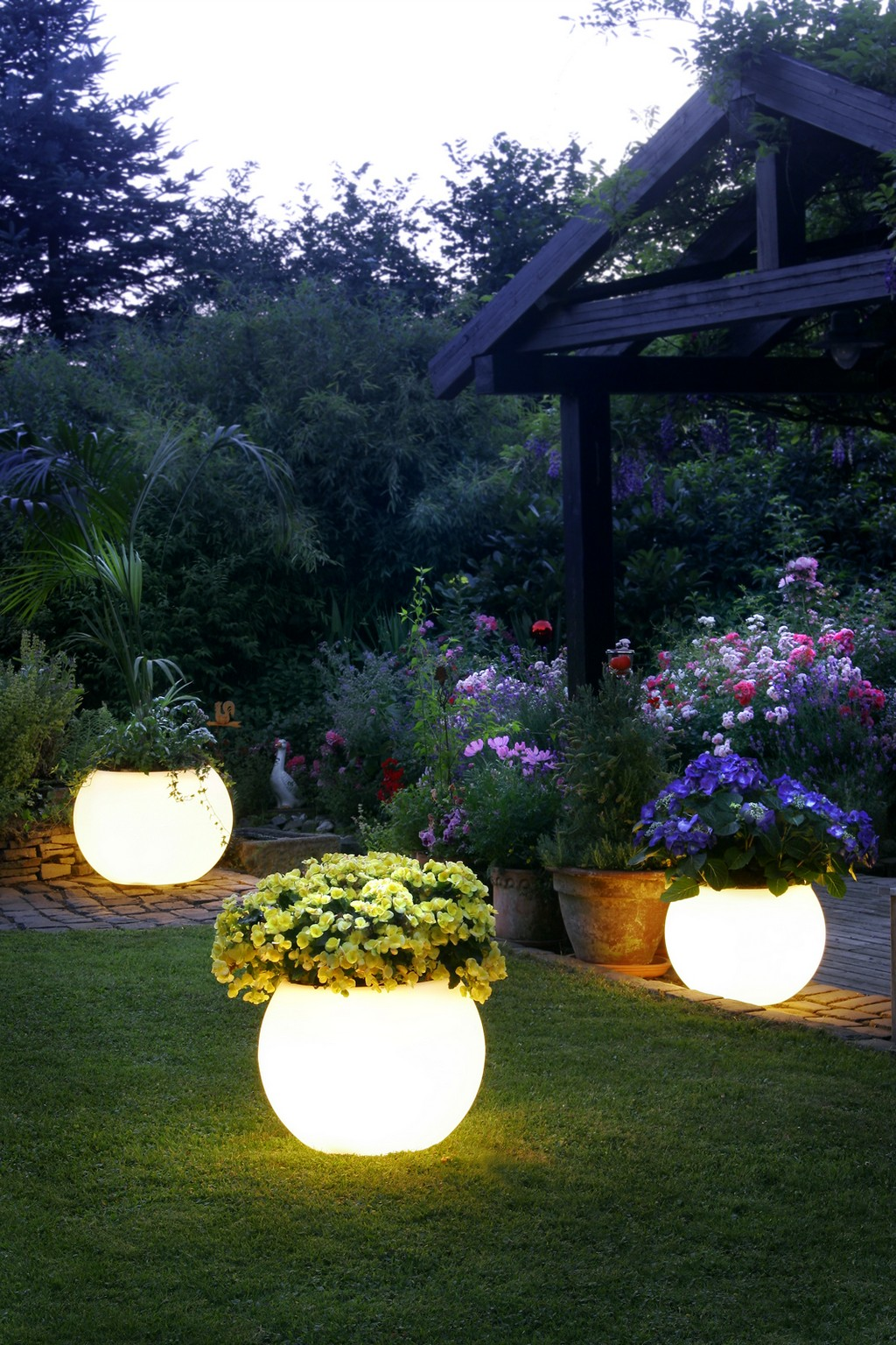 garden lights garden lighting MHZMBKY