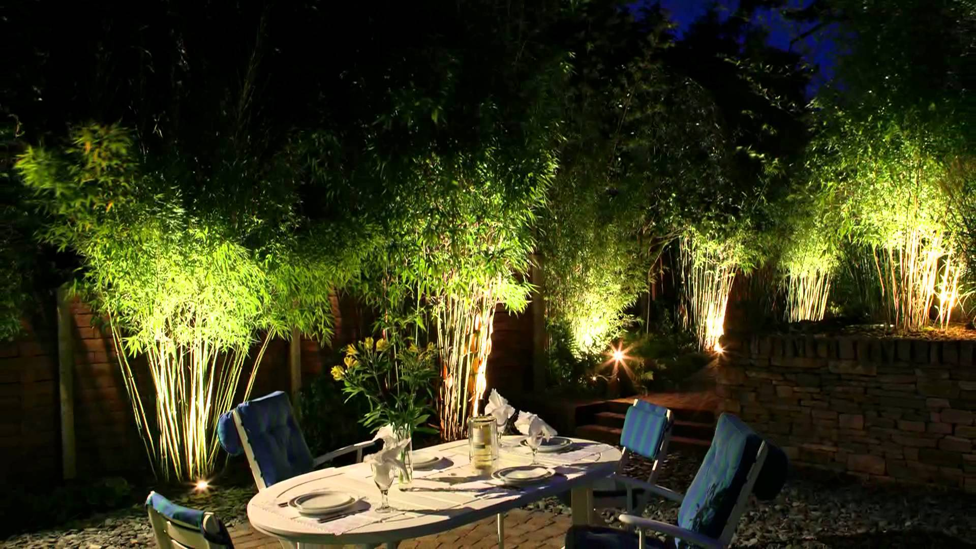 garden lights moonlight design - garden lighting specialists - youtube TSOKZGY