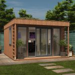 Create eco-friendly, chic and cheap garden offices