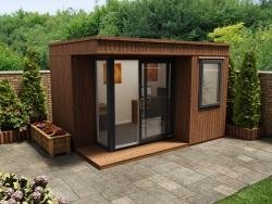 garden office lienne mkiii - left w3.8m x d2.7m ... VWXJTOF