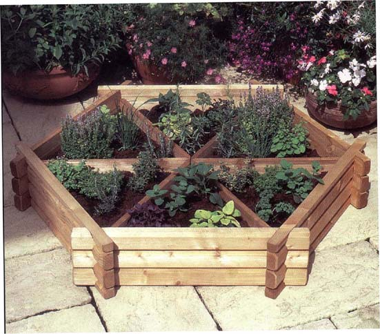 garden planters growing herbs or vegetables in garden pots and planters GAACKNN