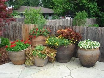 garden pots josaelcom TENJDFO