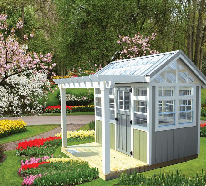 garden shed and potting shed LVQZARI