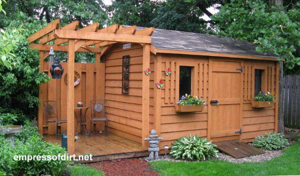 Creative garden shed ideas yonohomedesign garden sheds want inspiration for your dream shed if youu0027re thinking of building a garden workwithnaturefo