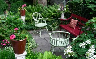 gardening ideas small garden, big interest eric sternfels (homeowner) philadelphia, pa HSYNIYQ