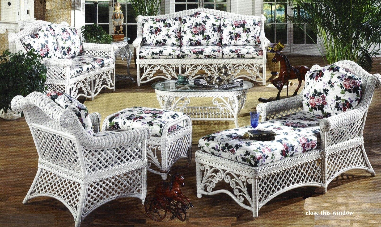 gazebo wicker furniture LOANMFU