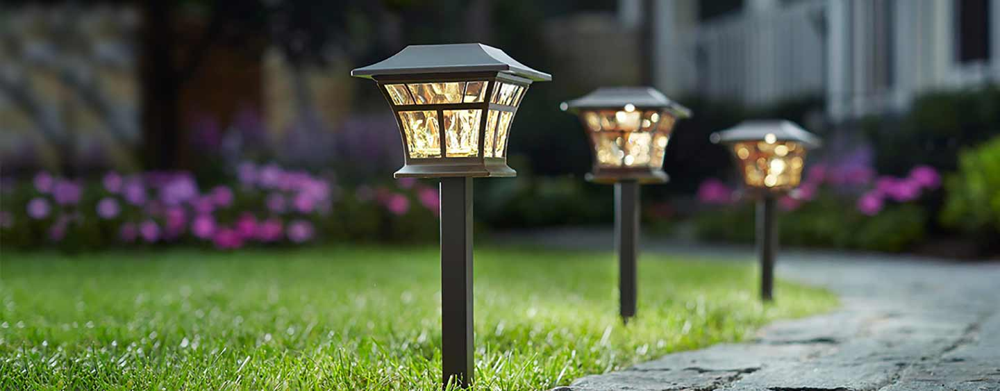 get ready for summer. with hampton bay outdoor lighting IWLAHVN