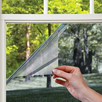 gila les361 heat control residential window film, platinum, 36-inch by 15- QJLSLYH