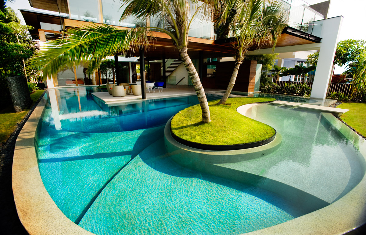 great swimming pool designs JTMOKBS