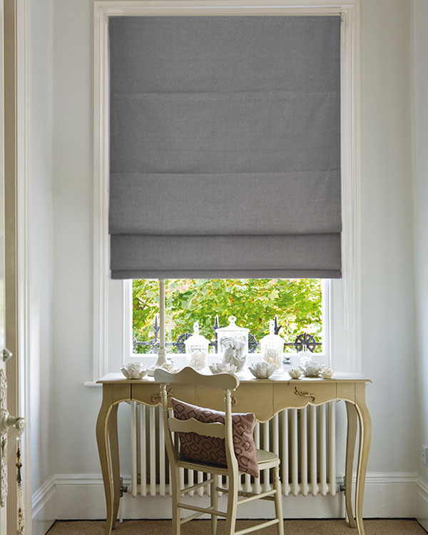 grey roman blinds OHPAWIM
