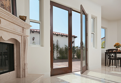 hinged patio doors andersen FRWZXLP